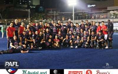 PAFL Game Recap Sept 1, 2018: Wolves Beat The Rebels With New PAFL Record